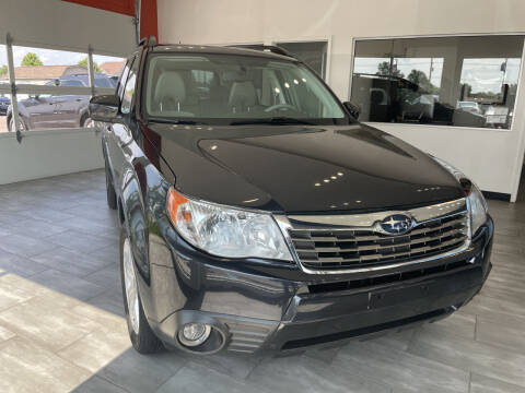 2009 Subaru Forester for sale at Evolution Autos in Whiteland IN