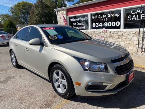 2016 Chevrolet Cruze Limited for sale at GOL Auto Group in Austin TX