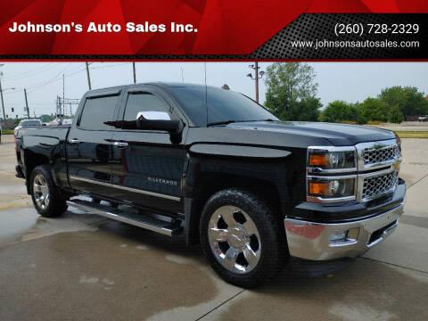 2014 Chevrolet Silverado 1500 for sale at Johnson's Auto Sales Inc. in Decatur IN
