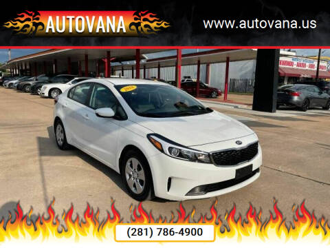 2018 Kia Forte for sale at AutoVana in Humble TX