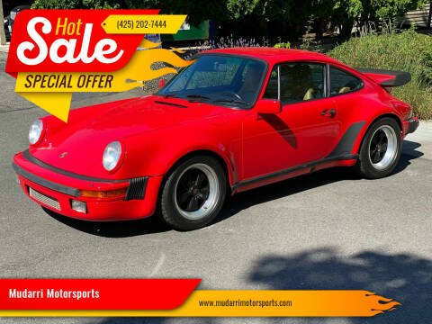 1987 Porsche 911 for sale at Mudarri Motorsports in Kirkland WA