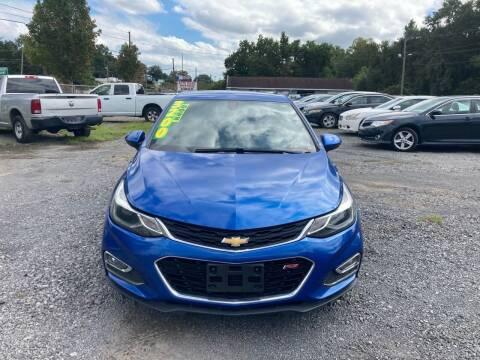 2017 Chevrolet Cruze for sale at Auto Mart in North Charleston SC