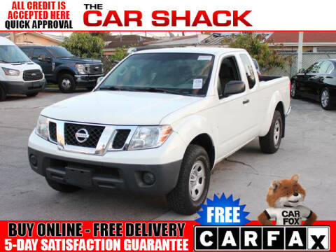 2016 Nissan Frontier for sale at The Car Shack in Hialeah FL