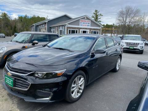 2018 Chevrolet Malibu for sale at Mascoma Auto INC in Canaan NH