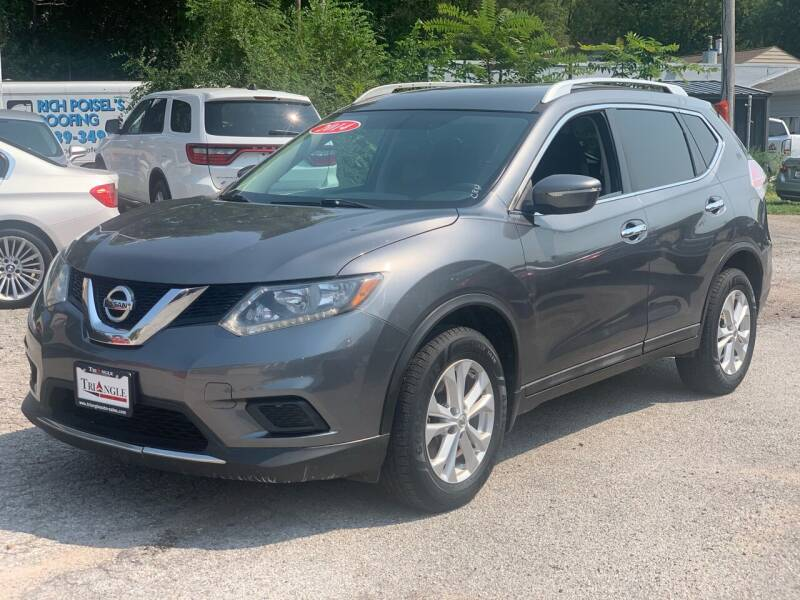 2014 Nissan Rogue for sale at Triangle Auto Sales in Omaha NE