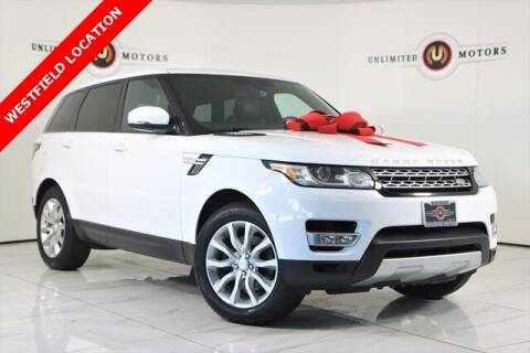 2014 Land Rover Range Rover Sport for sale at INDY'S UNLIMITED MOTORS - UNLIMITED MOTORS in Westfield IN