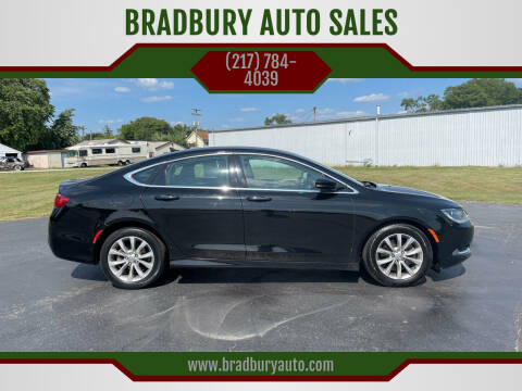 2016 Chrysler 200 for sale at BRADBURY AUTO SALES in Gibson City IL