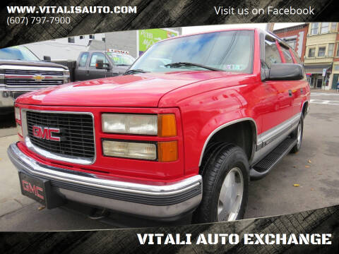 1997 GMC Yukon for sale at VITALI AUTO EXCHANGE in Johnson City NY