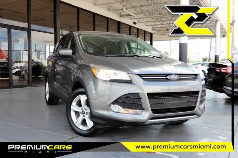 2014 Ford Escape for sale at Premium Cars of Miami in Miami FL