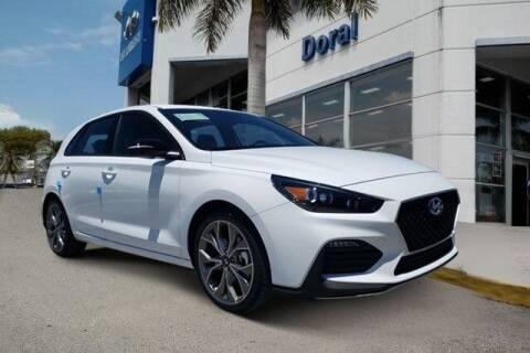 2020 Hyundai Elantra GT for sale at DORAL HYUNDAI in Doral FL