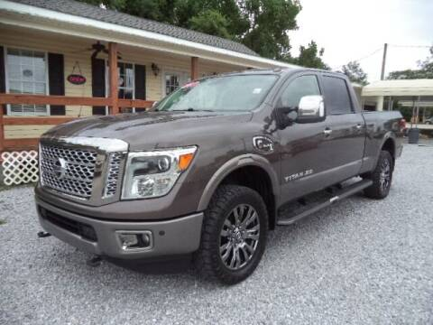 2017 Nissan Titan XD for sale at PICAYUNE AUTO SALES in Picayune MS