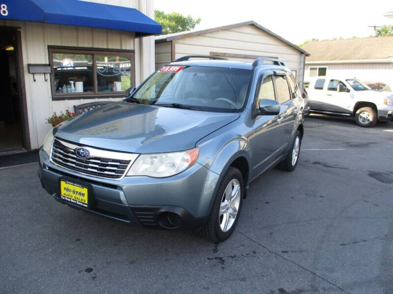 2010 Subaru Forester for sale at TRI-STAR AUTO SALES in Kingston NY