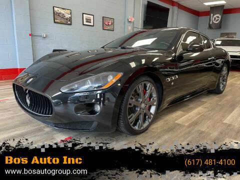 2009 Maserati GranTurismo for sale at Bos Auto Inc in Quincy MA