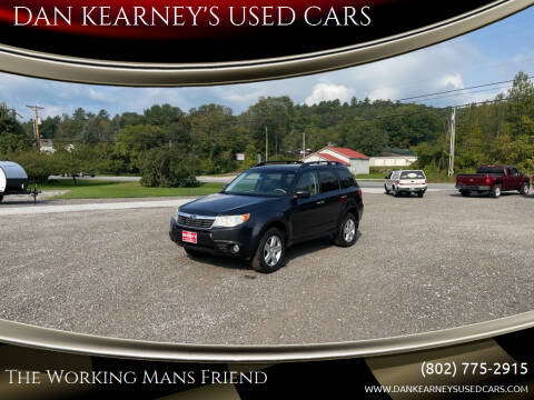 2010 Subaru Forester for sale at DAN KEARNEY'S USED CARS in Center Rutland VT