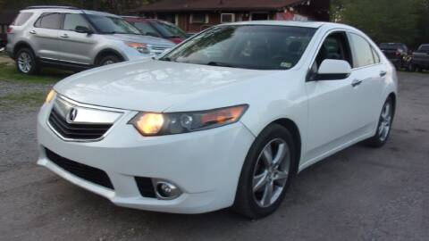 2013 Acura TSX for sale at Select Cars Of Thornburg in Fredericksburg VA