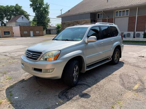 2003 Lexus GX 470 for sale at USA AUTO WHOLESALE LLC in Cleveland OH