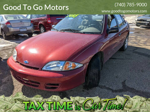 2000 Chevrolet Cavalier for sale at Good To Go Motors in Lancaster OH
