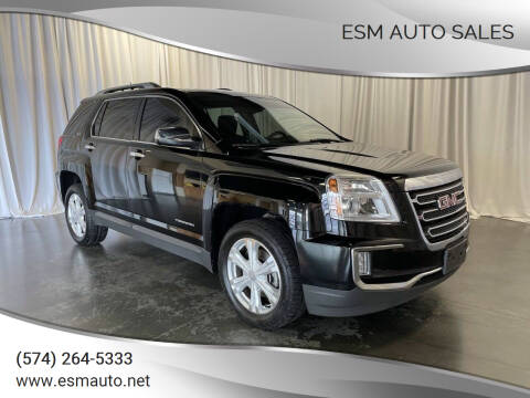 2016 GMC Terrain for sale at ESM Auto Sales in Elkhart IN
