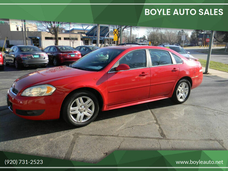 2011 Chevrolet Impala for sale at Boyle Auto Sales in Appleton WI