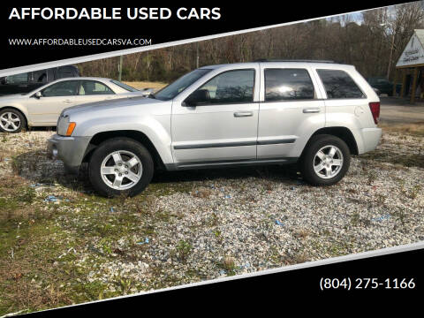 2007 Jeep Grand Cherokee for sale at AFFORDABLE USED CARS in Richmond VA