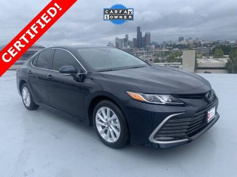 2021 Toyota Camry for sale at Toyota of Seattle in Seattle WA