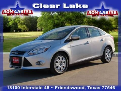 2012 Ford Focus for sale at Ron Carter  Clear Lake Used Cars in Houston TX