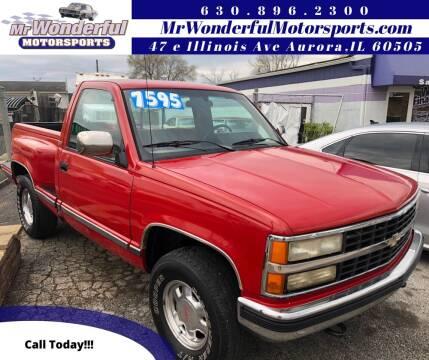 1991 Chevrolet C/K 1500 Series for sale at Mr Wonderful Motorsports in Aurora IL