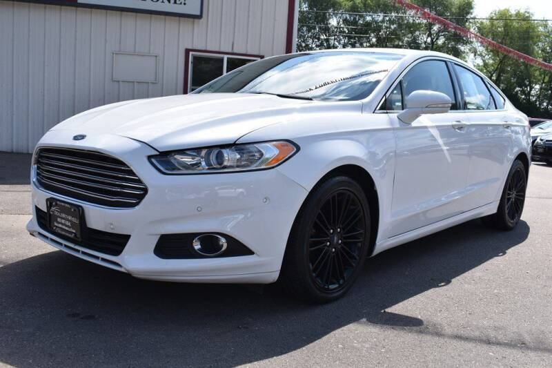 2016 Ford Fusion for sale at Dealswithwheels in Inver Grove Heights MN