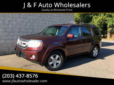 2011 Honda Pilot for sale at J & F Auto Wholesalers in Waterbury CT