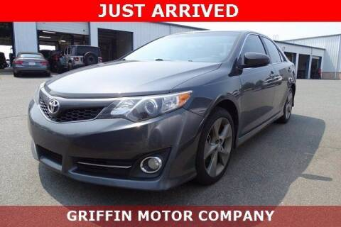 2012 Toyota Camry for sale at Griffin Buick GMC in Monroe NC