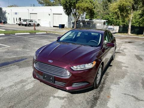 2013 Ford Fusion for sale at Best Price Car Dealer in Hallandale Beach FL