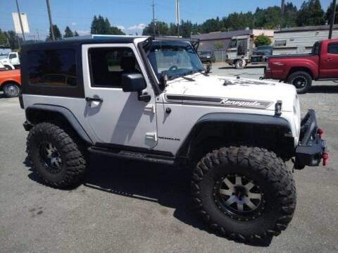 2009 Jeep Wrangler for sale at MILLENNIUM MOTORS INC in Monroe WA