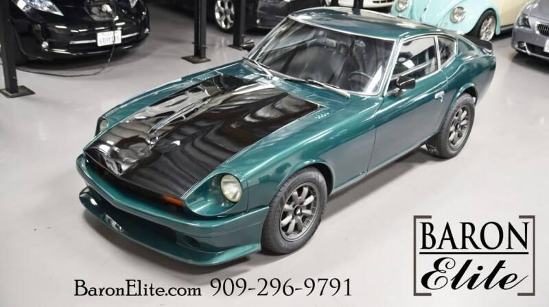 1974 Datsun 260z for sale at Baron Elite in Upland CA
