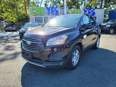 2015 Chevrolet Trax for sale at Car Yes Auto Sales in Baltimore MD