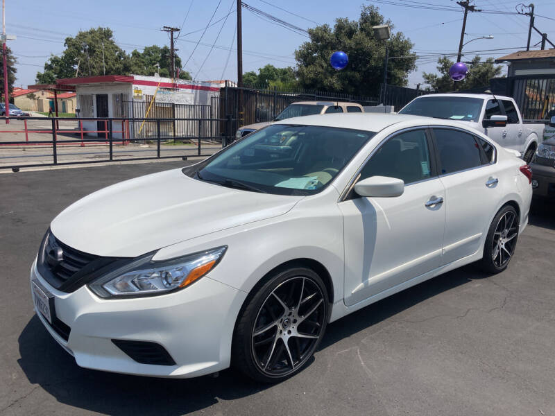 2016 Nissan Altima for sale at Pacific West Imports in Los Angeles CA