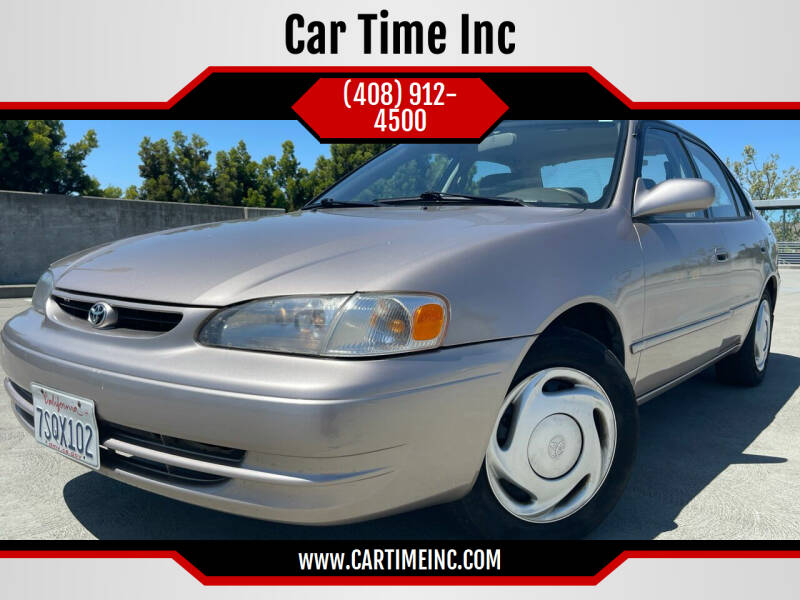 1998 Toyota Corolla for sale at Car Time Inc in San Jose CA
