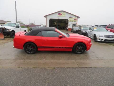2013 Ford Mustang for sale at Jefferson St Motors in Waterloo IA