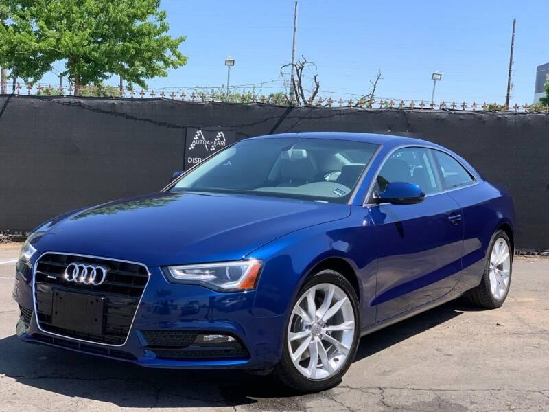 2013 Audi A5 for sale at AutoAffari LLC in Sacramento CA