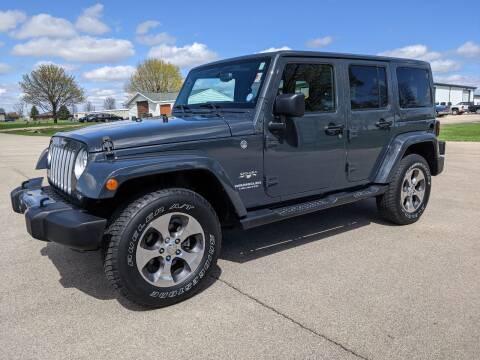 2017 Jeep Wrangler Unlimited for sale at McClain Auto Mall in Rochelle IL