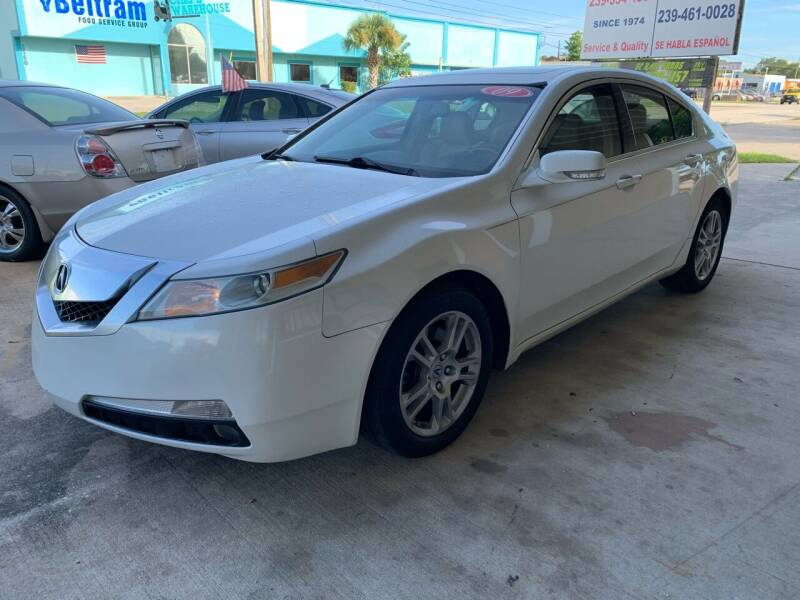 2009 Acura TL for sale at Eastside Auto Brokers LLC in Fort Myers FL