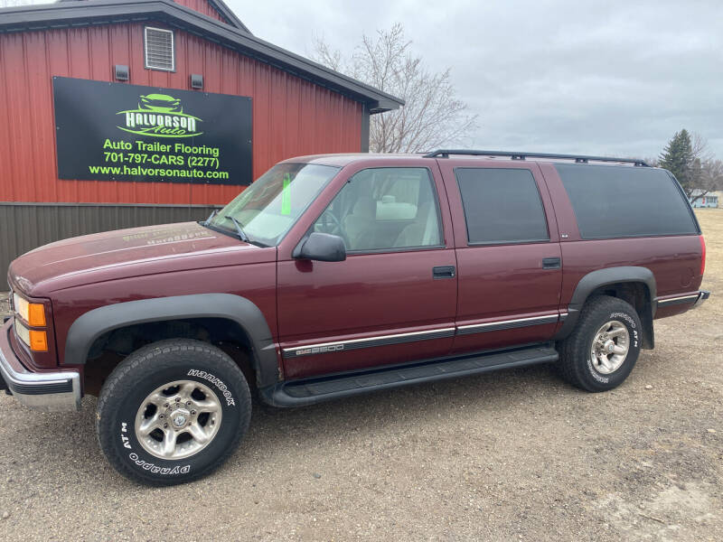 1999 GMC Suburban for sale at HALVORSON AUTO in Cooperstown ND