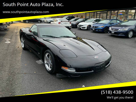 2003 Chevrolet Corvette for sale at South Point Auto Plaza, Inc. in Albany NY