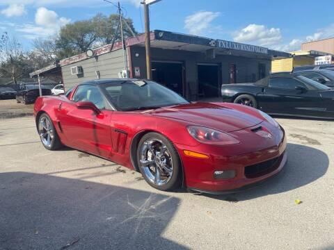 2012 Chevrolet Corvette for sale at Texas Luxury Auto in Houston TX