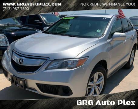 2014 Acura RDX for sale at GRG Auto Plex in Houston TX