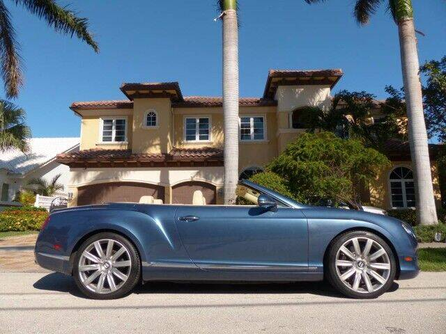 2012 Bentley Continental for sale at Lifetime Automotive Group in Pompano Beach FL