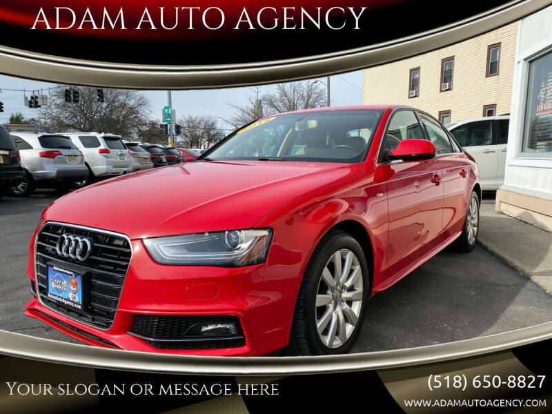 2015 Audi A4 for sale at ADAM AUTO AGENCY in Rensselaer NY