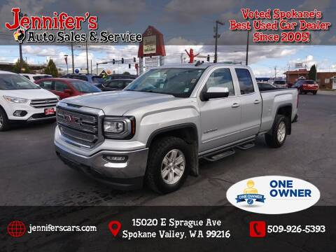 2017 GMC Sierra 1500 for sale at Jennifer's Auto Sales in Spokane Valley WA