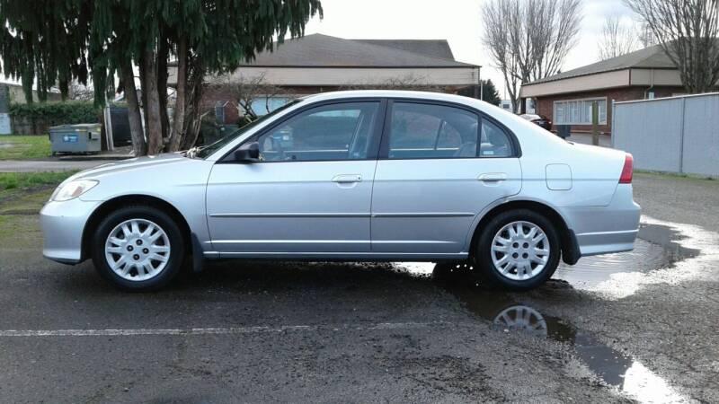 2005 Honda Civic for sale at Car Guys in Kent WA