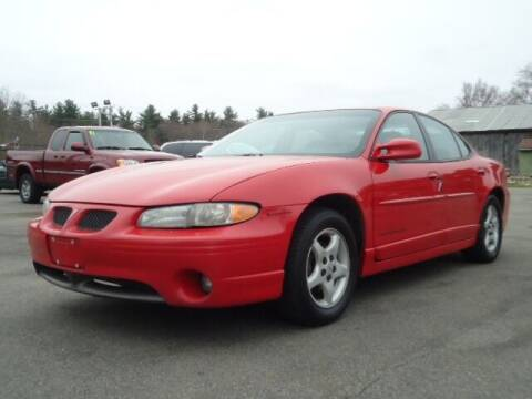 1998 Pontiac Grand Prix for sale at PB'S Auto Village in Hampton Falls NH