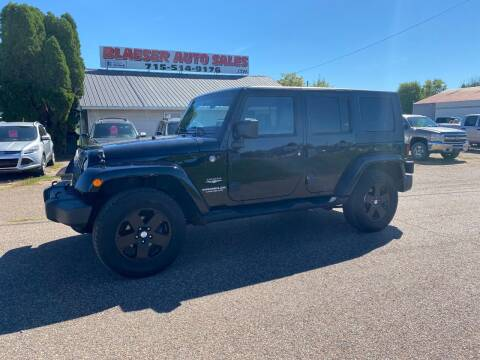 2007 Jeep Wrangler Unlimited for sale at BLAESER AUTO LLC in Chippewa Falls WI
